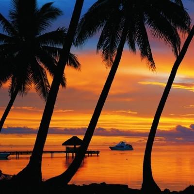 Naplemente - Bora Bora, Educa Puzzle 1500 db