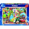 DISNEY'S WORLDS, Educa Puzzle 1000 pc