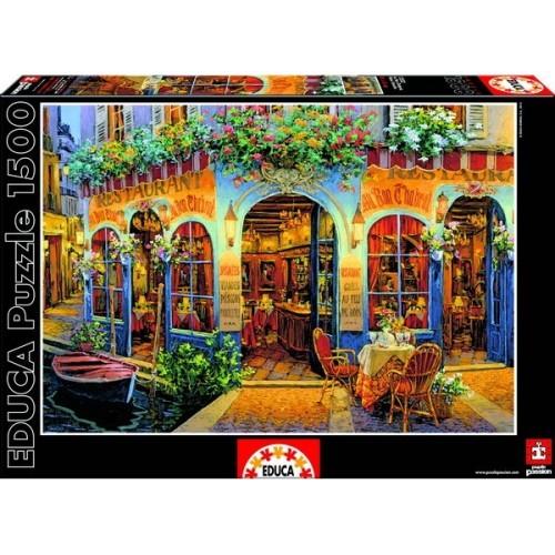 Au Bon Chabrot - Viktor Shvaiko, Educa Puzzle 1500 db