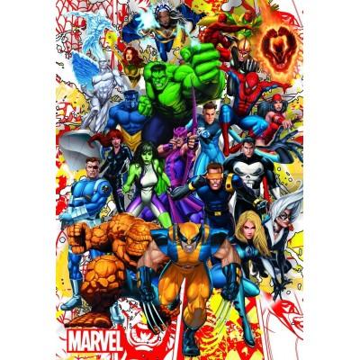 MARVEL HEROES, Educa Puzzle 500 pcs
