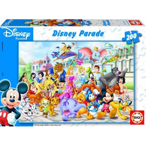 Disney Parade, Educa puzzle 200 pc