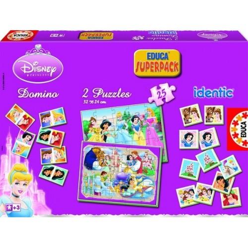 Disney Hercegnők, Educa Superpack Játékszett