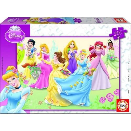 Disney Hercegnők, Educa puzzle kirakós 200 db