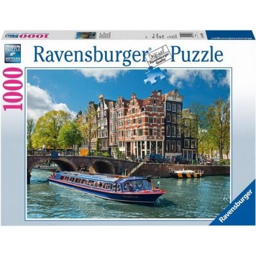 Amsterdam, Ravensburger Puzzle 1000 db