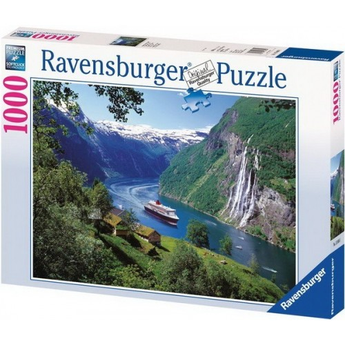 Norwegian Fjord, Ravensburger Puzzle 1000 pc