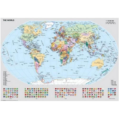 Political Map, Ravensburger Puzzle 1000 pc
