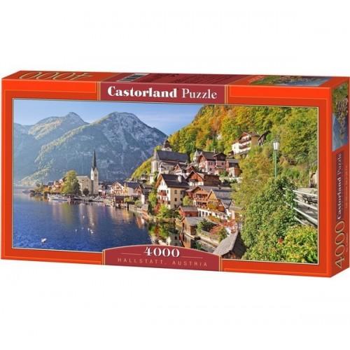 Hallstatt - Austria, Castorland puzzle 4000 db
