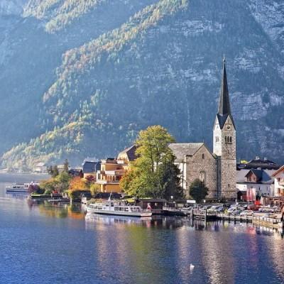 Hallstatt - Austria, Castorland puzzle 4000 pc