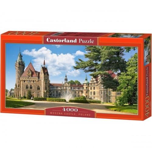 Moszna Kastély - Lengyelország, Castorland puzzle 4000 db