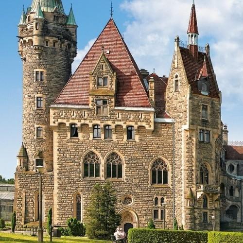 Moszna Castle - Poland, Castorland puzzle 4000 pc