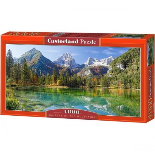 Fenséges Hegyek, Castorland puzzle 4000 db