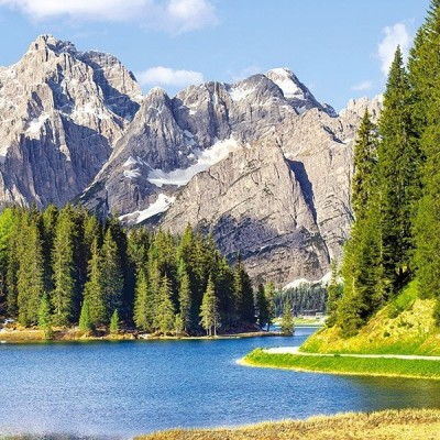 Misurina Lake - Italy, Castorland puzzle 3000 pc