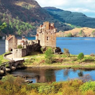Eilean Donan Castle - Scotland, Castorland puzzle 2000 pc