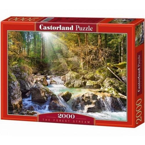 Erdei patak, Castorland puzzle 2000 db