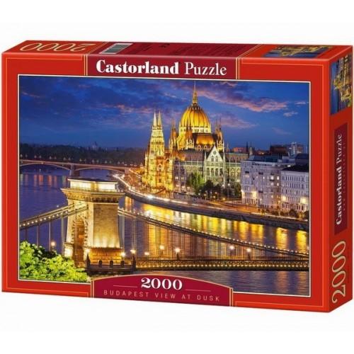 Budapesti látkép alkonyatkor, Castorland puzzle 2000 db