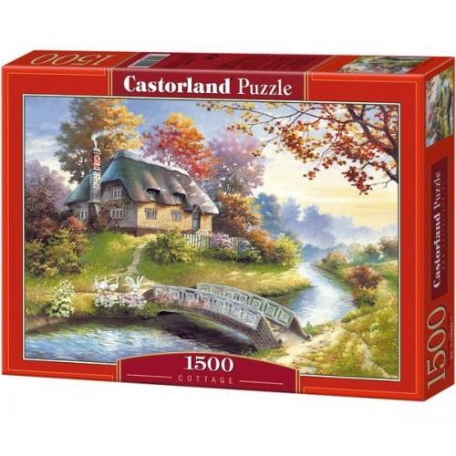 Házikó a pataknál, Castorland puzzle 1500 db