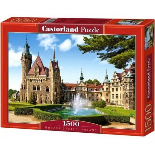 Moszna Kastély - Lengyelország, Castorland puzzle 1500 db