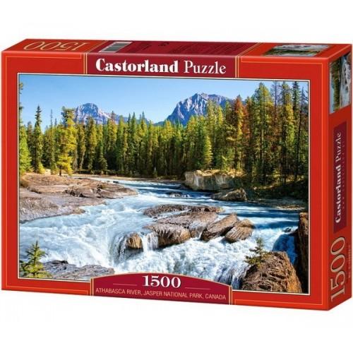 Athabasca folyó - Kanada, Castorland puzzle 1500 db