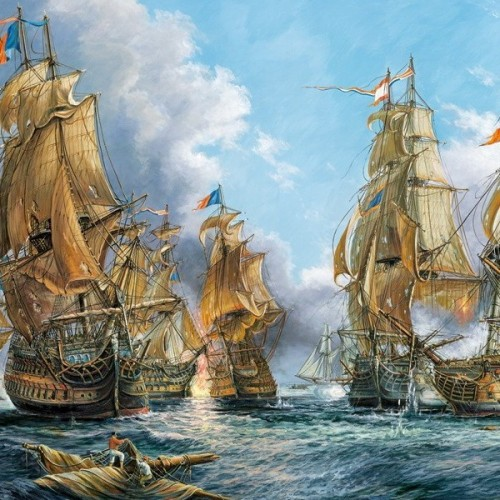 Naval Battle, Castorland puzzle 4000 pc