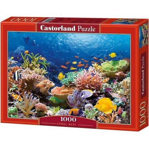 Korall zátony halai, Castorland Puzzle 1000 db