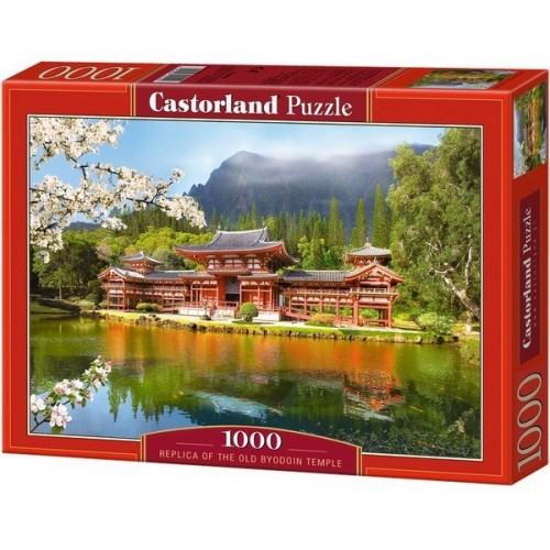 Replica of the Old Byodoin Temple, Castorland Puzzle 1000 pc