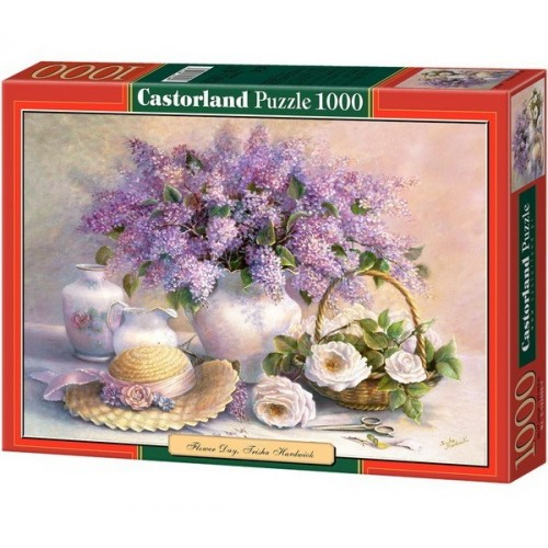 Virágnap - Trisha Hardwick, Castorland Puzzle 1000 db