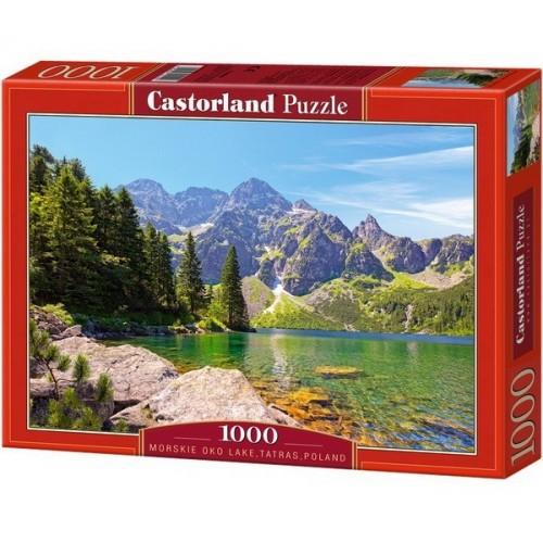 Morskie Oko-tó (Tátra) - Lengyelország, Castorland Puzzle 1000 db