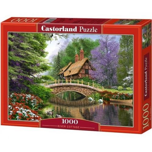 Ház a folyónál, Castorland Puzzle 1000 db