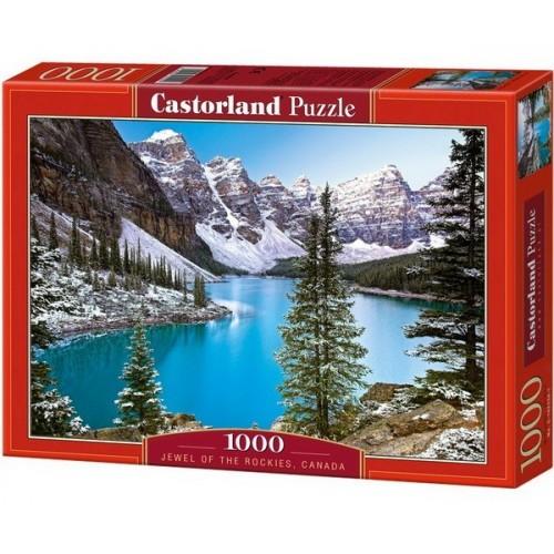 Tó a Sziklás-hegységben - Kanada, Castorland Puzzle 1000 db