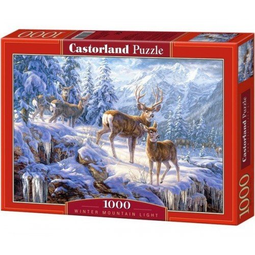 Winter mountain light, Castorland Puzzle 1000 pc
