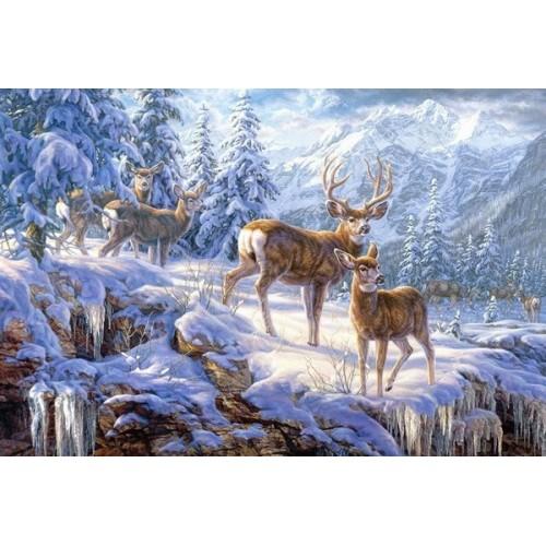 Winter mountain light, Castorland Puzzle 1000 pc