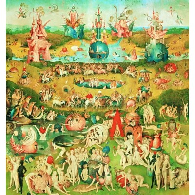 The Garden of Earthly Delights, Educa Puzzle 9000 pc