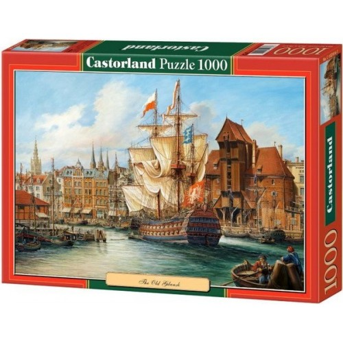 The Old Gdansk, Castorland Puzzle 1000 pc