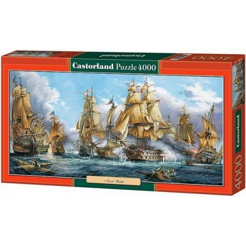 Tengeri Csata, Castorland puzzle 4000 db
