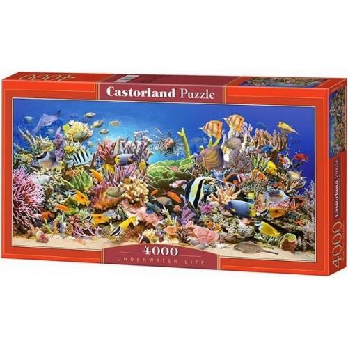 Élet a tengerben, Castorland puzzle 4000 db