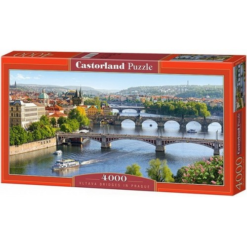 Vltava Bridges in Prague, Castorland puzzle 4000 pc