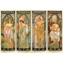 Times of the Day - Alfons Mucha, D-Toys puzzle 1000 pc