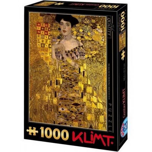 Adele Bloch-Bauer I. - Gustav Klimt, D-Toys puzzle 1000 db