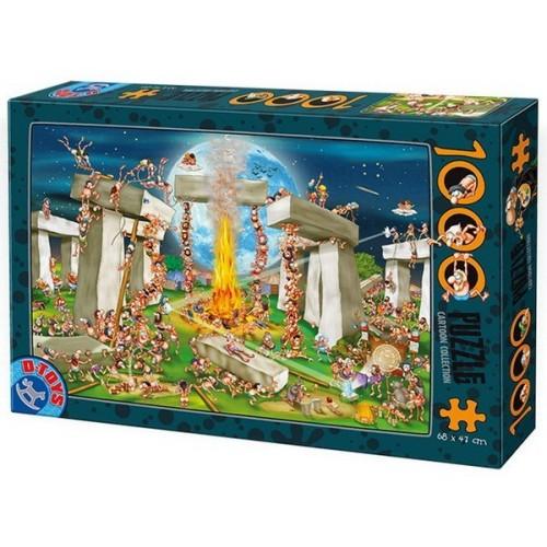 Stonehenge, D-Toys puzzle 1000 db