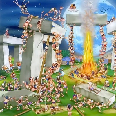 Stonehenge, D-Toys puzzle 1000 pc