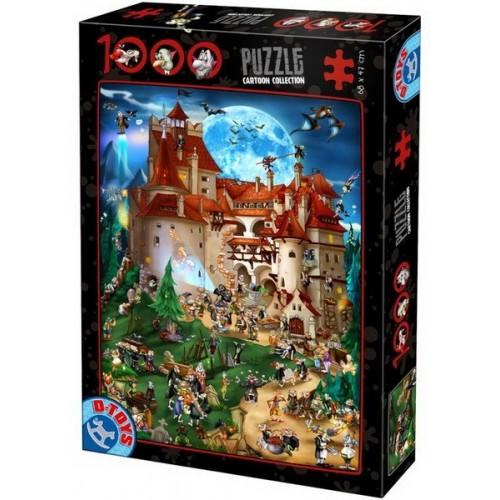 Drakula Kastély, D-Toys puzzle 1000 db