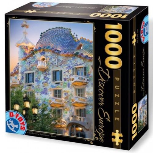 Casa Batlló - Barcelona, D-Toys puzzle 1000 db