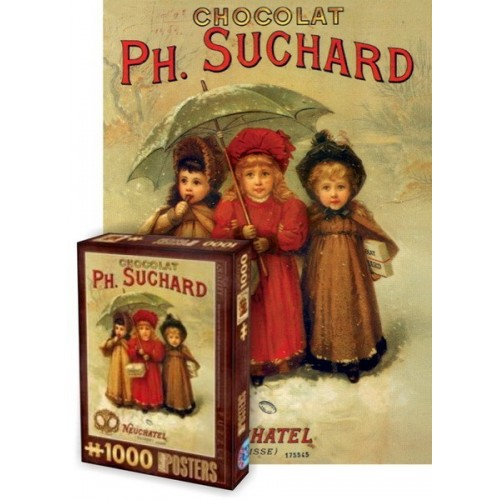Vintage Posters - PH. Suchard, D-Toys puzzle 1000 pc