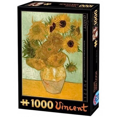 Sunflowers - Van Gogh, D-Toys puzzle 1000 pc