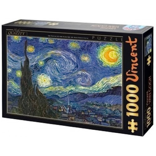 The starry night - Van Gogh, D-Toys puzzle 1000 pc