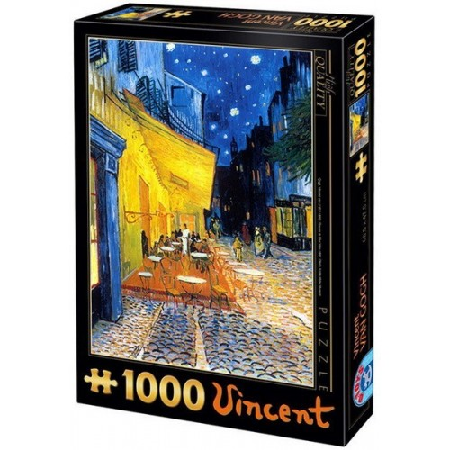 Café terrace at night - Van Gogh, D-Toys puzzle 1000 pc