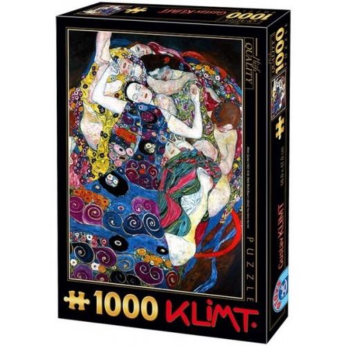 Szűz - Gustav Klimt, D-Toys puzzle 1000 db