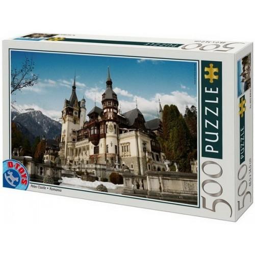 Peles Kastély - Románia, D-Toys puzzle 500 db
