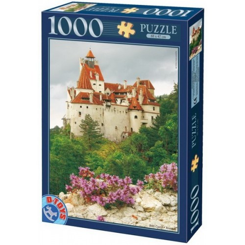 Bran, Dracula Castle - Romania, D-Toys puzzle 1000 pc