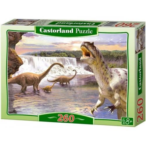 Diplodocus, Castorland puzzle 260 pc